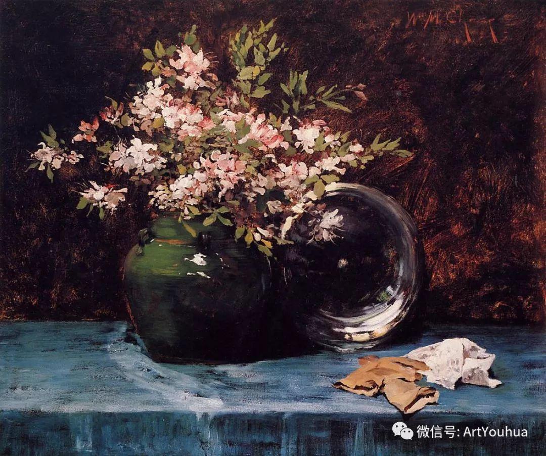 人物风景 美国画家William Merritt Chase作品欣赏插图33