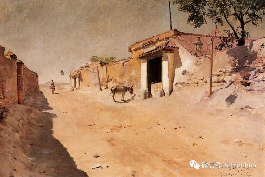 人物风景 美国画家William Merritt Chase作品欣赏插图41