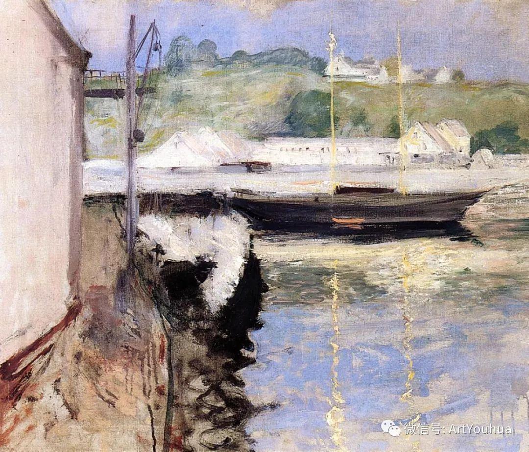 人物风景 美国画家William Merritt Chase作品欣赏插图47
