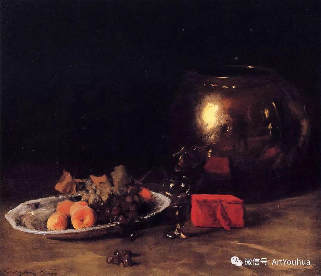 人物风景 美国画家William Merritt Chase作品欣赏插图49