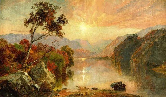 哈德森画派 美国画家Jasper francis cropsey作品一插图9