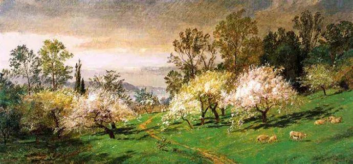 哈德森画派 美国画家Jasper francis cropsey作品一插图21