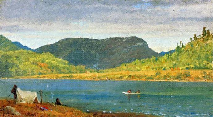哈德森画派 美国画家Jasper francis cropsey作品一插图23