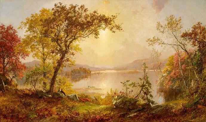 哈德森画派 美国画家Jasper francis cropsey作品一插图25