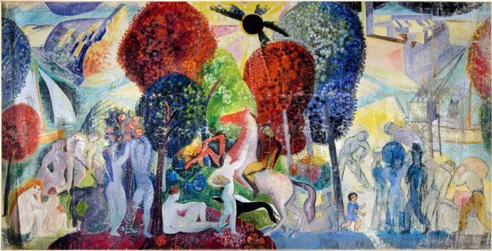 瑞典犹太表现主义画家Isaac Grünewald插图7