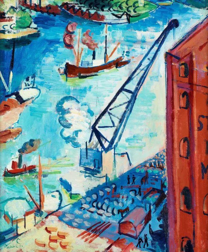 瑞典犹太表现主义画家Isaac Grünewald插图15