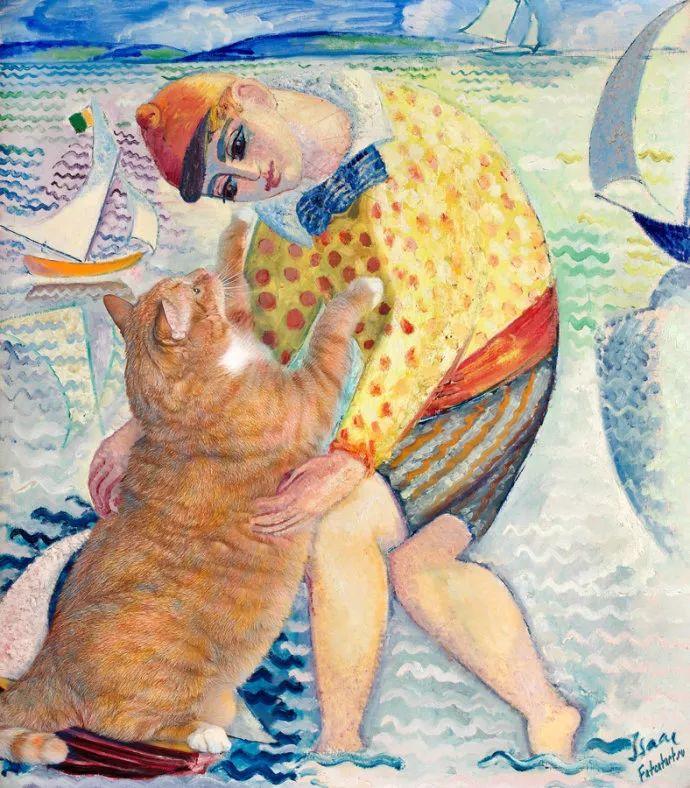 瑞典犹太表现主义画家Isaac Grünewald插图27