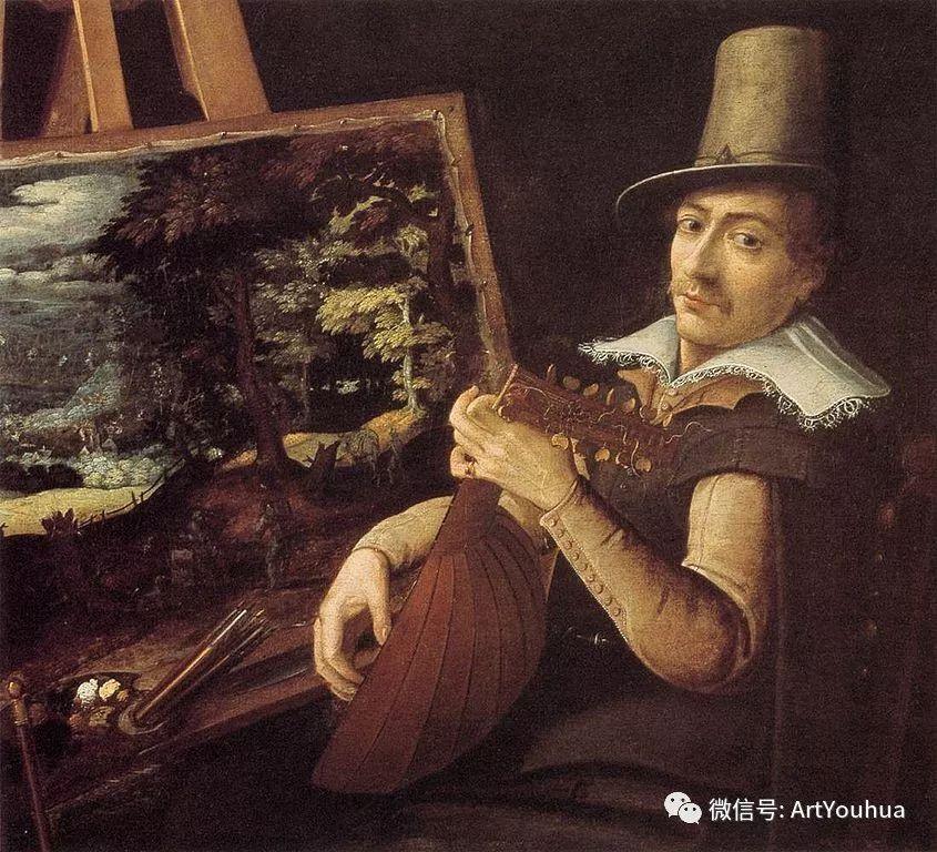 风景油画欣赏 比利时画家Paul Bril插图1