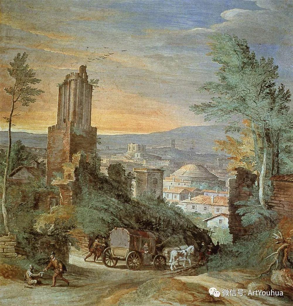 风景油画欣赏 比利时画家Paul Bril插图3