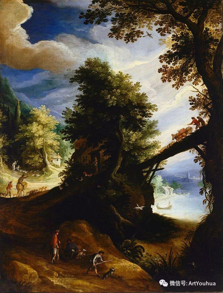 风景油画欣赏 比利时画家Paul Bril插图5
