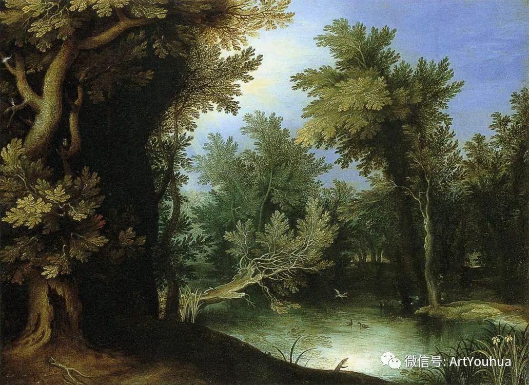 风景油画欣赏 比利时画家Paul Bril插图9