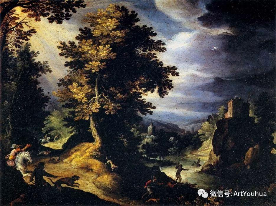 风景油画欣赏 比利时画家Paul Bril插图11