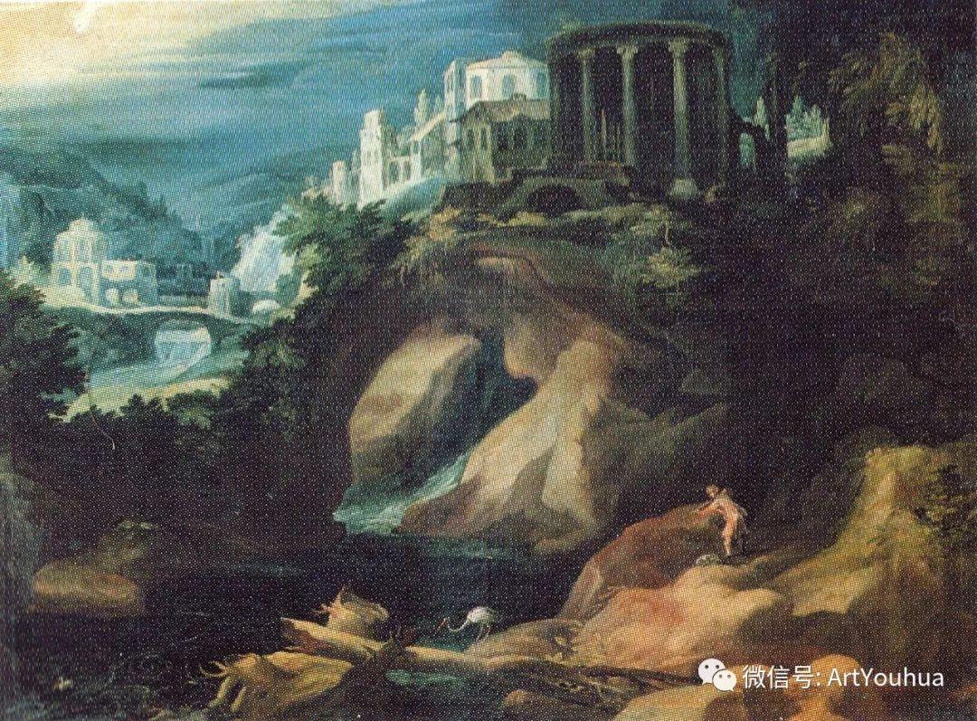 风景油画欣赏 比利时画家Paul Bril插图13