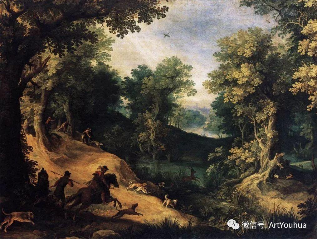 风景油画欣赏 比利时画家Paul Bril插图15