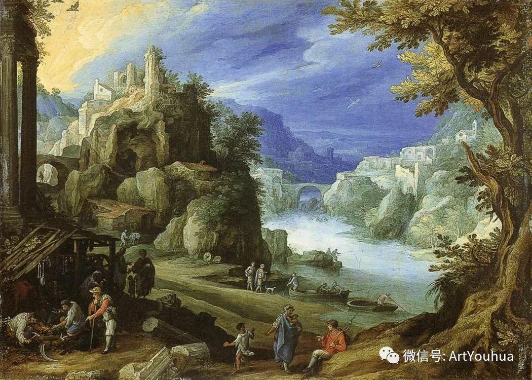 风景油画欣赏 比利时画家Paul Bril插图17