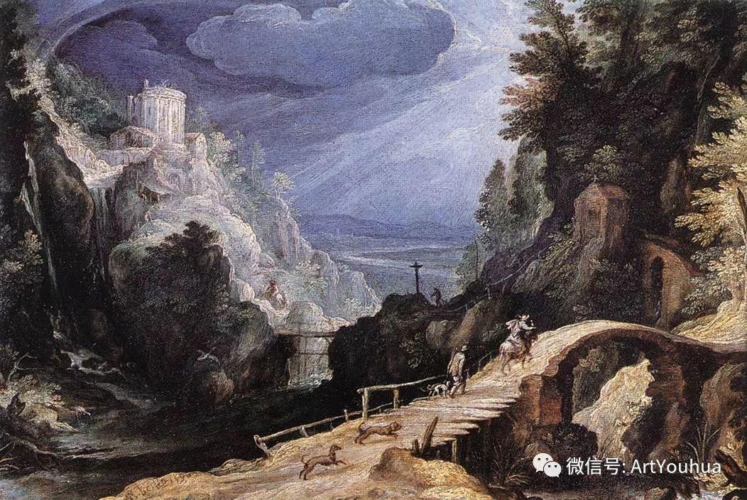 风景油画欣赏 比利时画家Paul Bril插图19