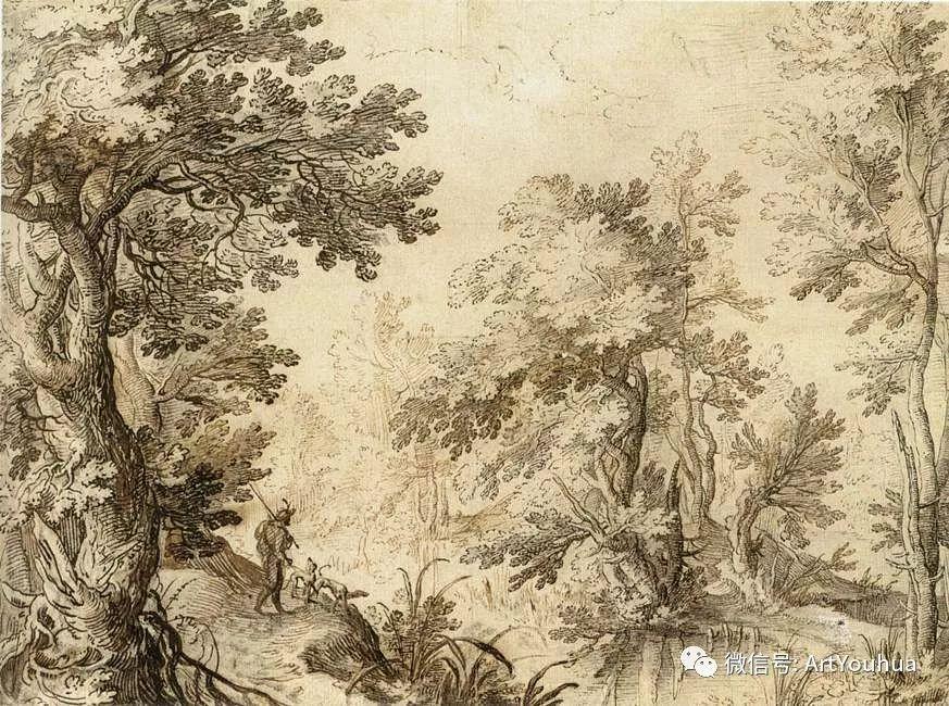 风景油画欣赏 比利时画家Paul Bril插图23
