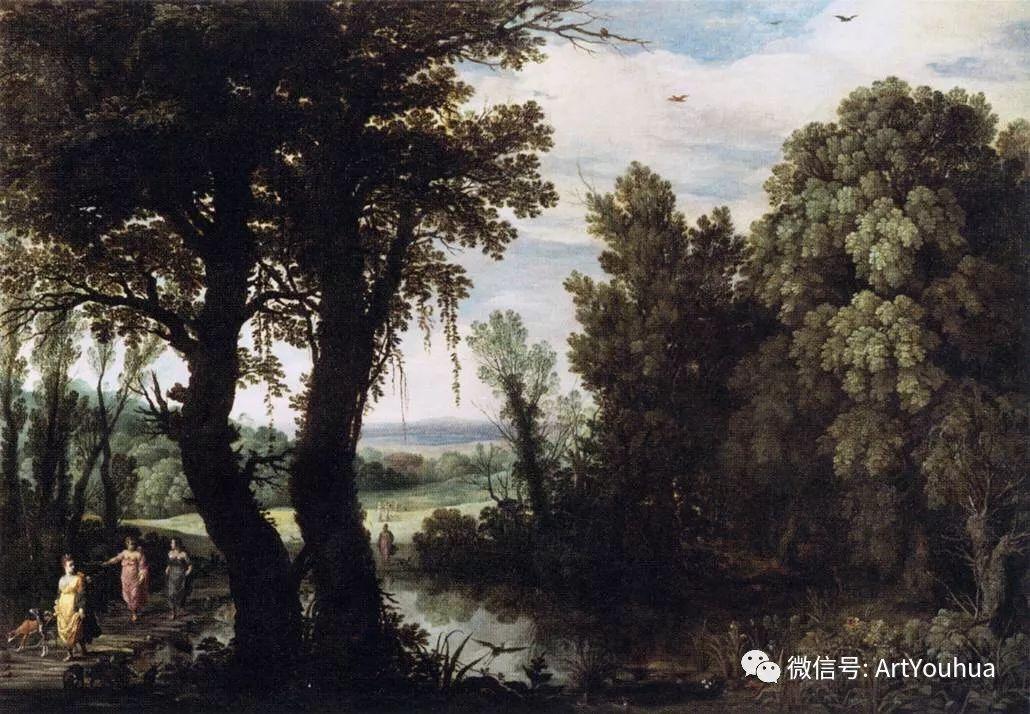 风景油画欣赏 比利时画家Paul Bril插图25