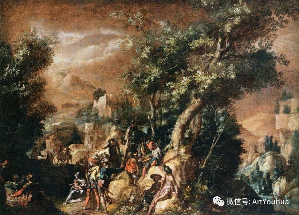 风景油画欣赏 比利时画家Paul Bril插图27
