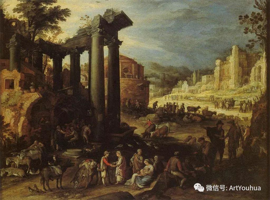风景油画欣赏 比利时画家Paul Bril插图29