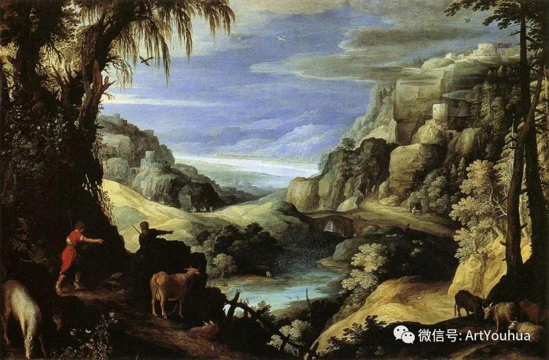 风景油画欣赏 比利时画家Paul Bril插图31