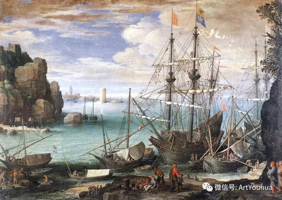 风景油画欣赏 比利时画家Paul Bril插图33