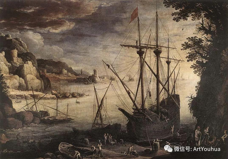 风景油画欣赏 比利时画家Paul Bril插图35