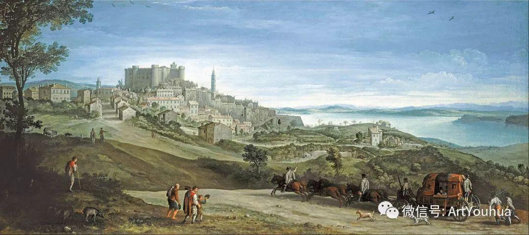 风景油画欣赏 比利时画家Paul Bril插图39