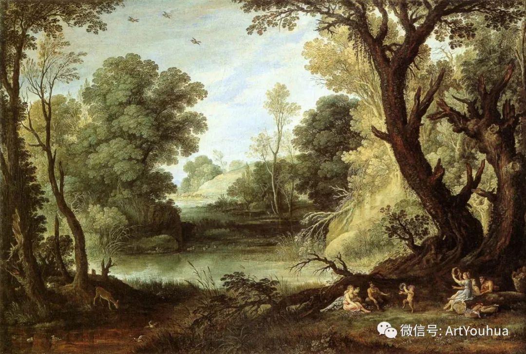 风景油画欣赏 比利时画家Paul Bril插图41