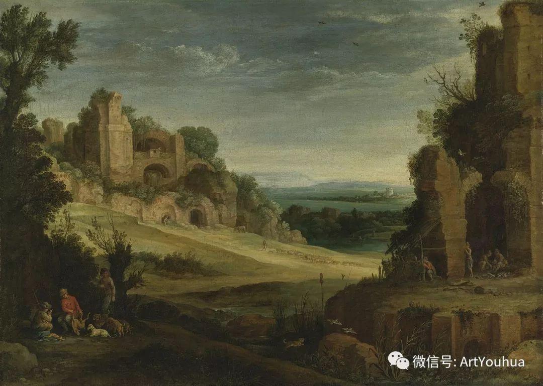 风景油画欣赏 比利时画家Paul Bril插图43