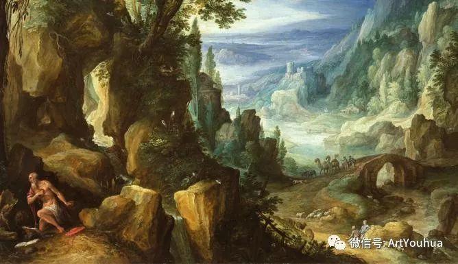 风景油画欣赏 比利时画家Paul Bril插图45