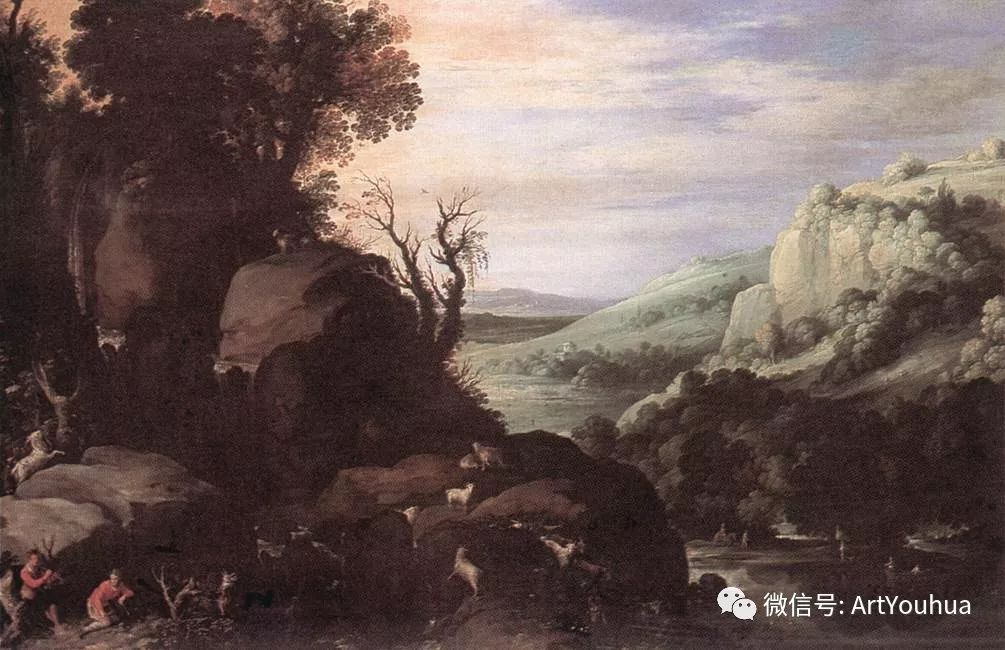 风景油画欣赏 比利时画家Paul Bril插图47
