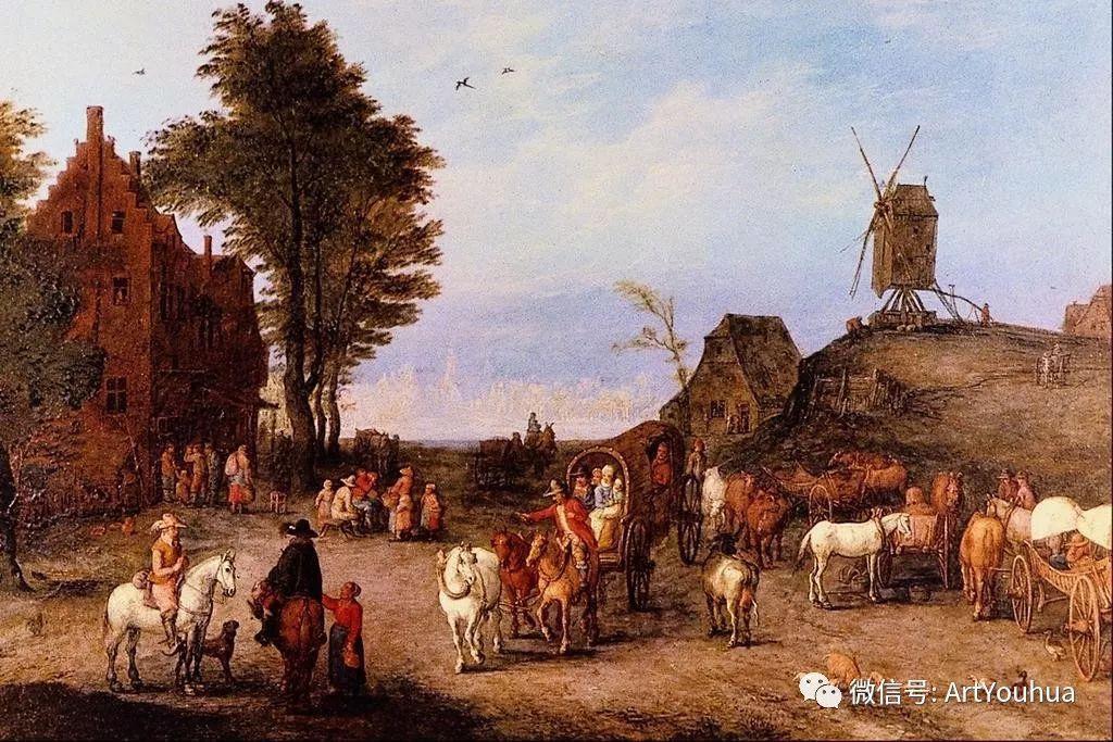 风景油画欣赏 比利时画家Paul Bril插图49