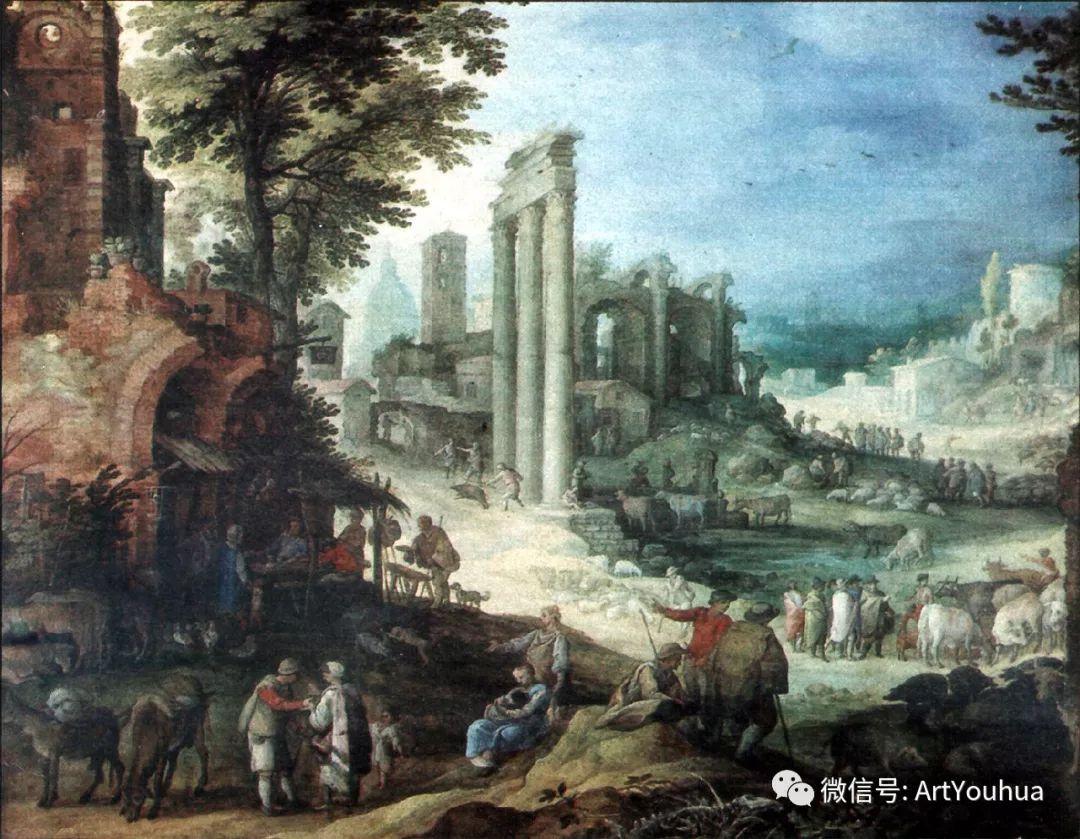 风景油画欣赏 比利时画家Paul Bril插图51