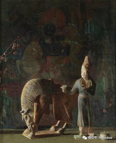 静物画里的中国元素 美国Hovsep Pushman作品插图1