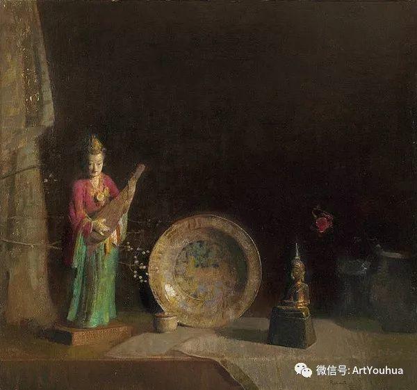 静物画里的中国元素 美国Hovsep Pushman作品插图5