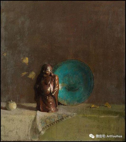 静物画里的中国元素 美国Hovsep Pushman作品插图9