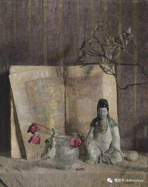 静物画里的中国元素 美国Hovsep Pushman作品插图11