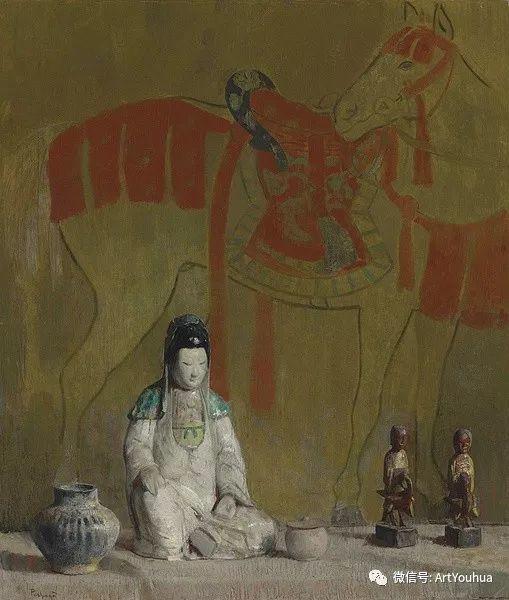 静物画里的中国元素 美国Hovsep Pushman作品插图13
