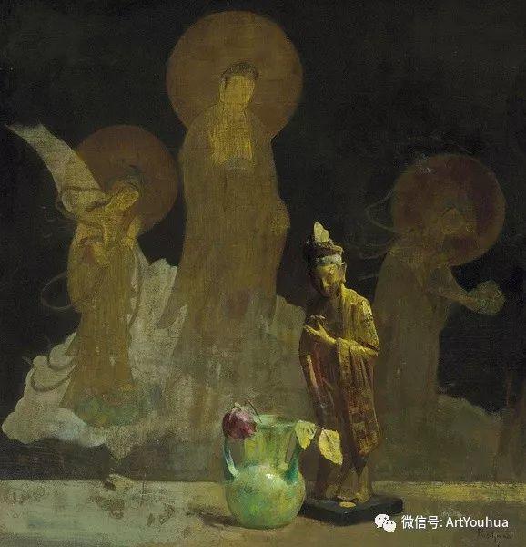 静物画里的中国元素 美国Hovsep Pushman作品插图15