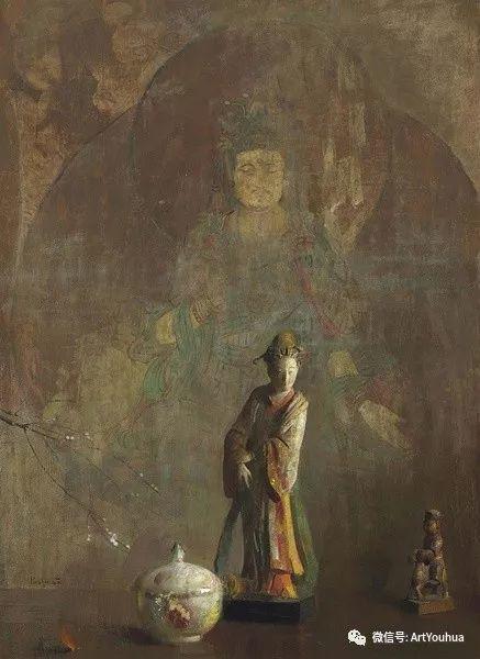 静物画里的中国元素 美国Hovsep Pushman作品插图17