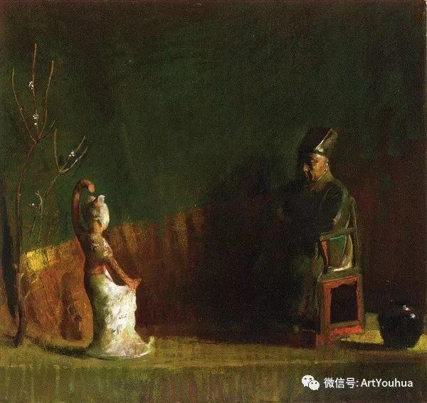 静物画里的中国元素 美国Hovsep Pushman作品插图19