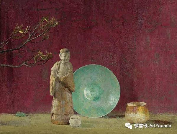 静物画里的中国元素 美国Hovsep Pushman作品插图21