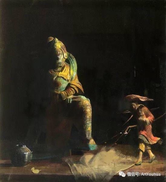 静物画里的中国元素 美国Hovsep Pushman作品插图23