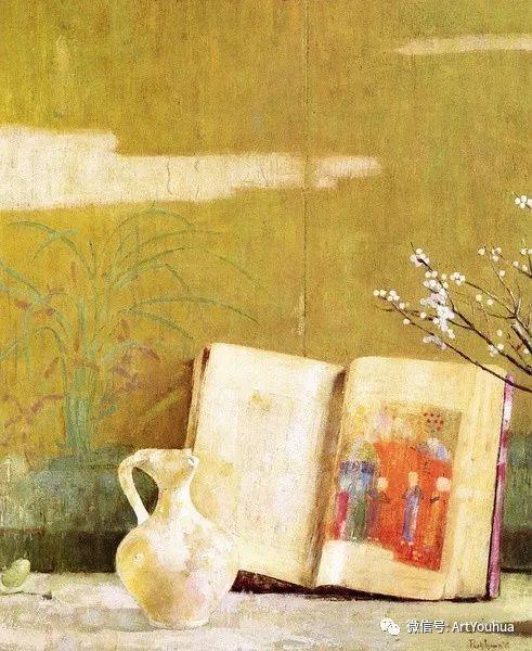 静物画里的中国元素 美国Hovsep Pushman作品插图31