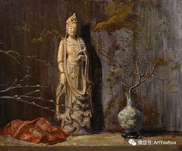 静物画里的中国元素 美国Hovsep Pushman作品插图33