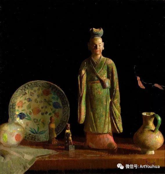 静物画里的中国元素 美国Hovsep Pushman作品插图35