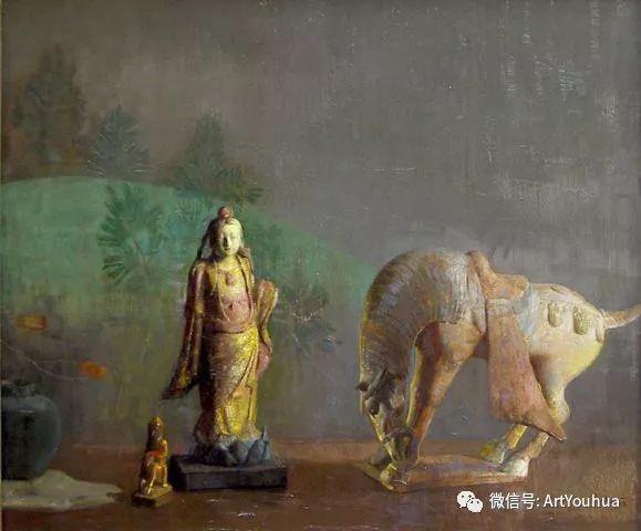 静物画里的中国元素 美国Hovsep Pushman作品插图37