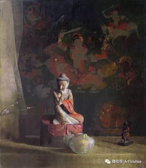 静物画里的中国元素 美国Hovsep Pushman作品插图39