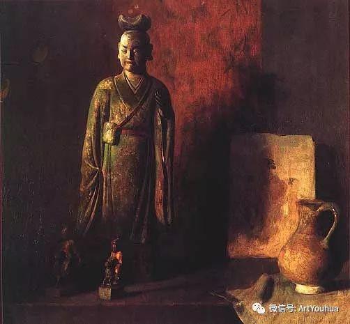 静物画里的中国元素 美国Hovsep Pushman作品插图41